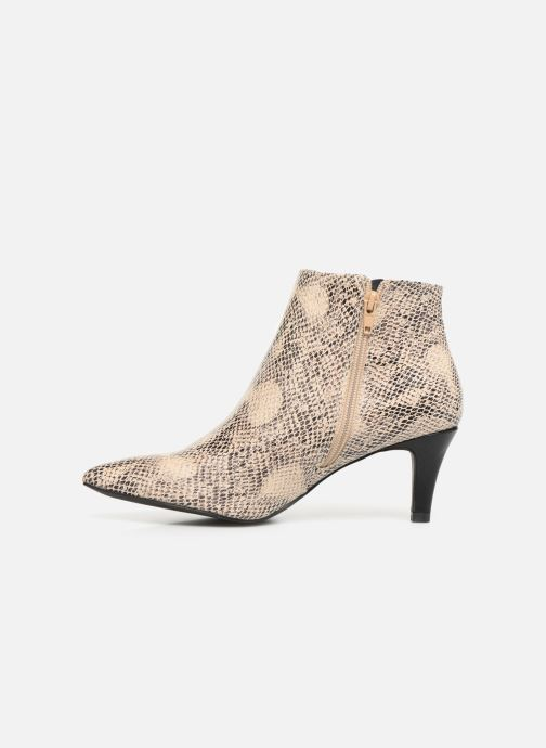 Boots en enkellaarsjes I Love Shoes Thipy Beige voorkant