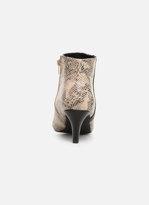 Botines  I Love Shoes Thipy Beige vista lateral derecha