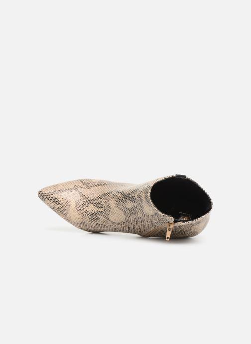Botines  I Love Shoes Thipy Beige vista lateral izquierda