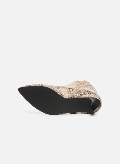 Botines  I Love Shoes Thipy Beige vista de arriba