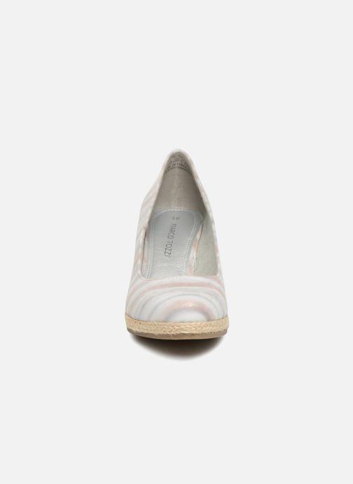 Espadrilles Marco Tozzi 2-2-22418-20 248 Gris vue portées chaussures