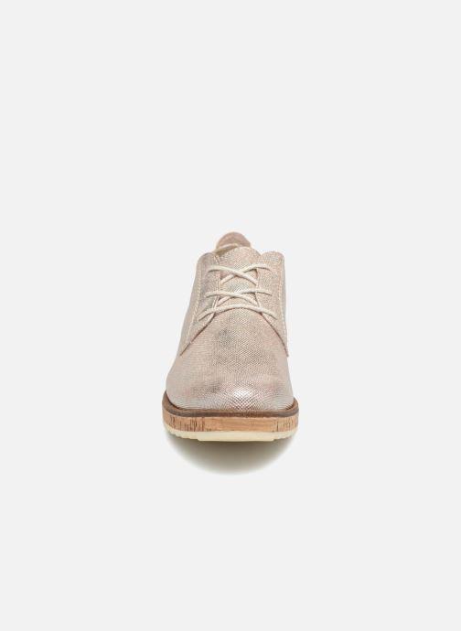 Chaussures à lacets Marco Tozzi 2-2-23727-30 532 Rose vue portées chaussures