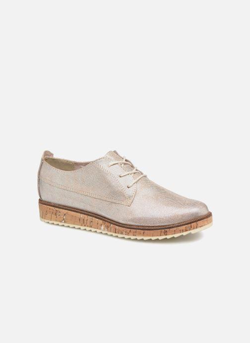 Chaussures à lacets Marco Tozzi 2-2-23727-30 532 Rose vue détail/paire