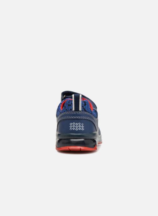 Sneaker Geox B Todo Boy B9284A blau ansicht von rechts