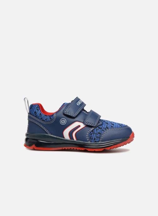 Sneaker Geox B Todo Boy B9284A blau ansicht von hinten