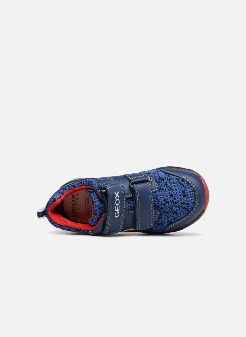 Sneaker Geox B Todo Boy B9284A blau ansicht von links