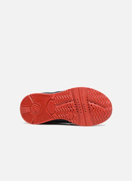Sneaker Geox B Todo Boy B9284A blau ansicht von oben