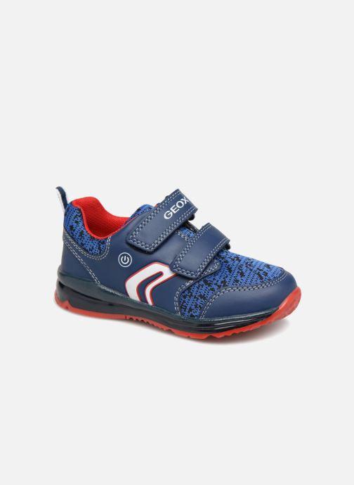 Sneaker Geox B Todo Boy B9284A blau detaillierte ansicht/modell