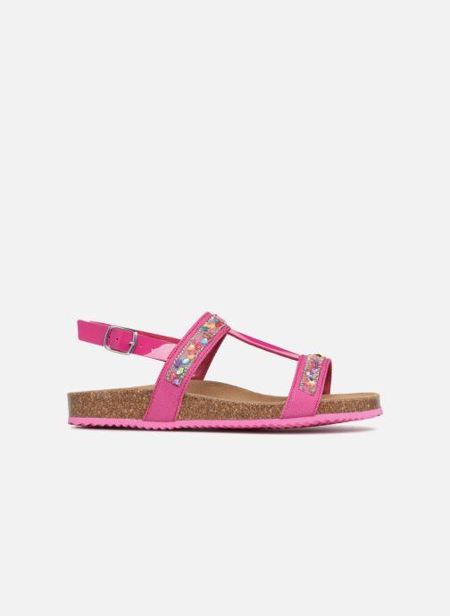 Sandales et nu-pieds Geox J N.S.ALOHA G Rose vue derrière