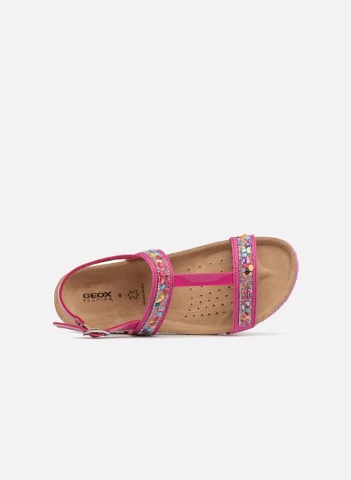 Sandales et nu-pieds Geox J N.S.ALOHA G Rose vue gauche