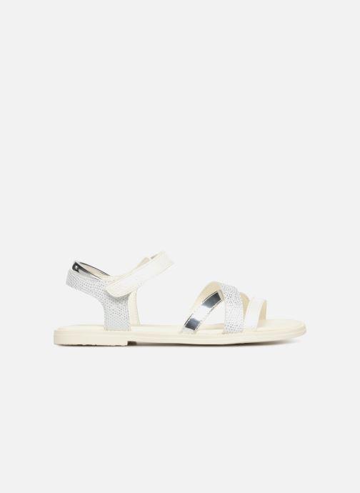 Sandales et nu-pieds Geox J S.KARLY G Blanc vue derrière