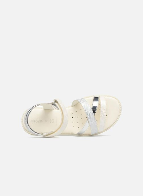 Sandales et nu-pieds Geox J S.KARLY G Blanc vue gauche