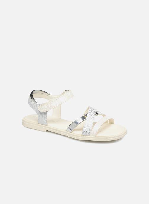 Sandales et nu-pieds Geox J S.KARLY G Blanc vue détail/paire