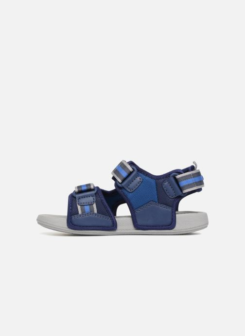 Sandales et nu-pieds Geox J S.ULTRAK B Bleu vue face