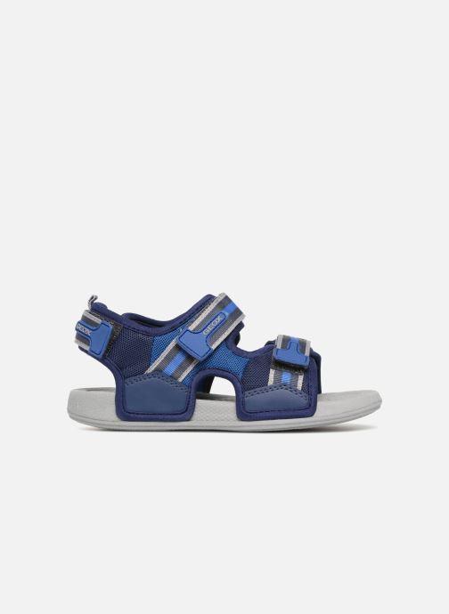 Sandales et nu-pieds Geox J S.ULTRAK B Bleu vue derrière
