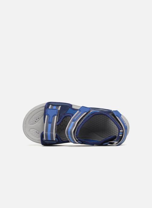 Sandales et nu-pieds Geox J S.ULTRAK B Bleu vue gauche