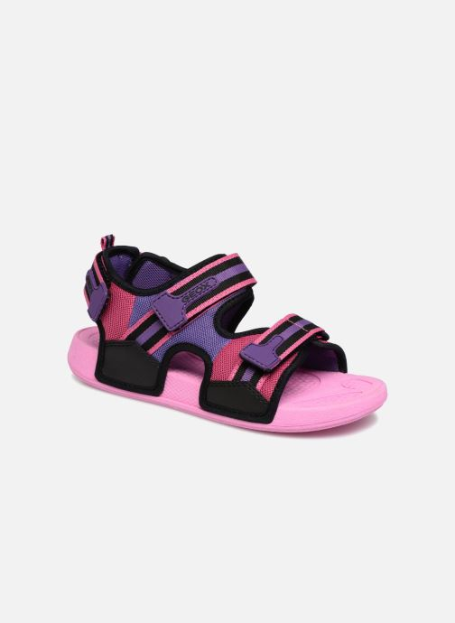 Sandales et nu-pieds Geox J S.ULTRAK G Rose vue détail/paire