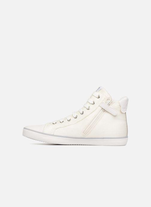 Sneakers Geox J KILWI G Wit voorkant