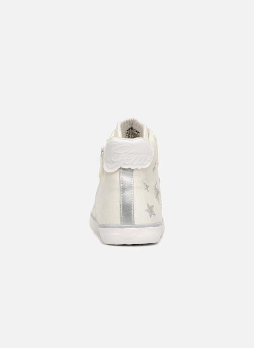 Sneakers Geox J KILWI G Wit rechts