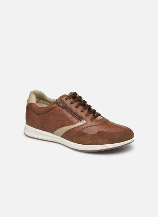 Sneaker Geox U AVERY B braun detaillierte ansicht/modell