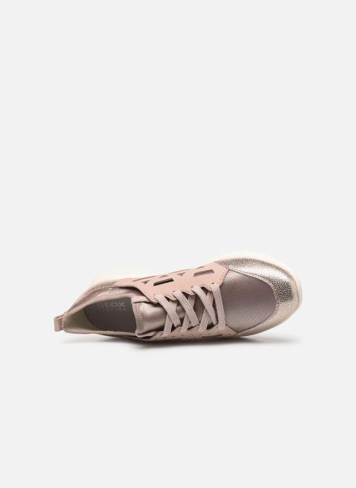 Sneakers Geox D OPHIRA B Sølv se fra venstre