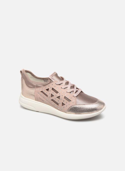 Sneakers Geox D OPHIRA B Sølv detaljeret billede af skoene