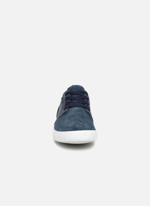 Baskets Geox U SMART B Bleu vue portées chaussures