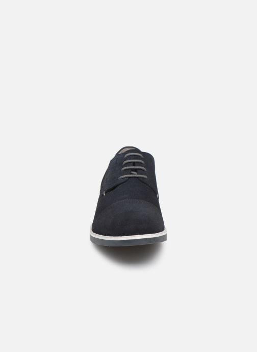 Chaussures à lacets Geox U DANIO A Bleu vue portées chaussures