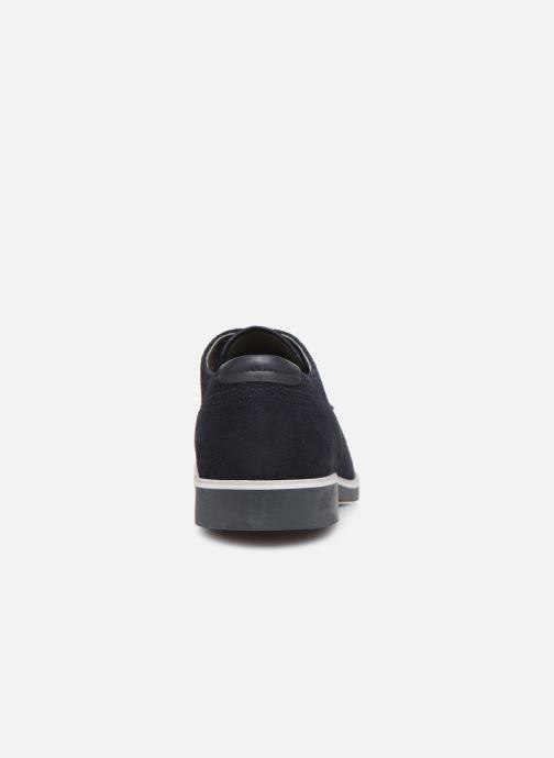 Chaussures à lacets Geox U DANIO A Bleu vue droite