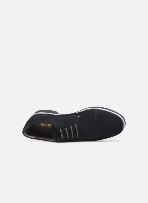 Chaussures à lacets Geox U DANIO A Bleu vue gauche
