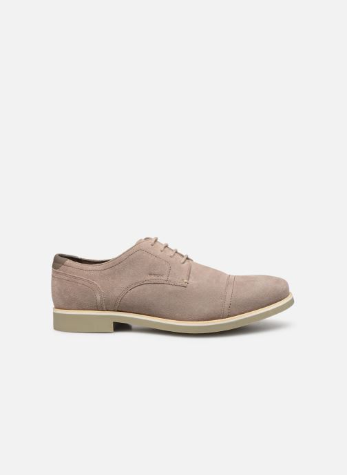 Lace-up shoes Geox U DANIO A Beige back view