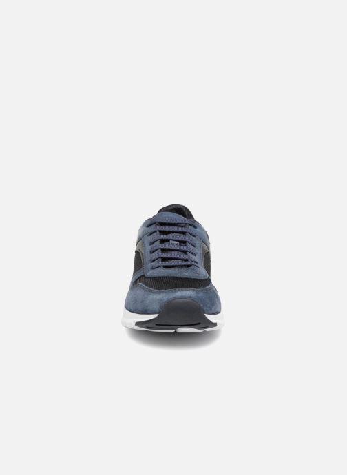 Sneaker Geox U CALAR A blau schuhe getragen