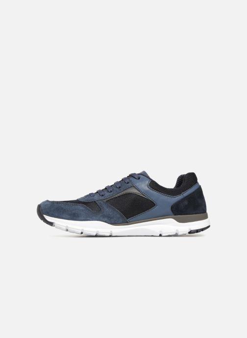 Sneaker Geox U CALAR A blau ansicht von vorne