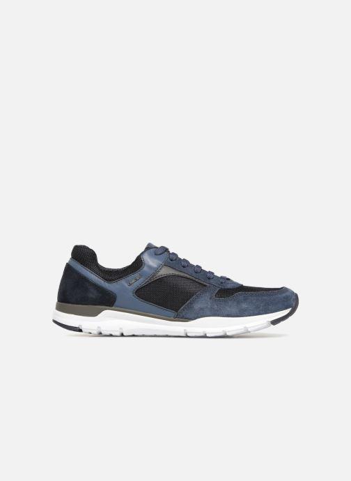 Sneaker Geox U CALAR A blau ansicht von hinten