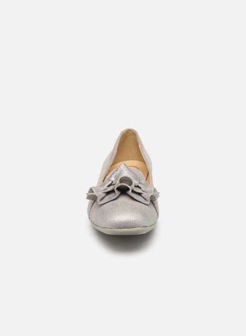 Ballerines Geox D ANNYTAH D Gris vue portées chaussures