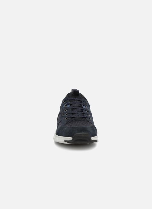 Sneaker Geox U SNAPISH B blau schuhe getragen