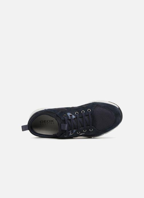 Sneaker Geox U SNAPISH B blau ansicht von links