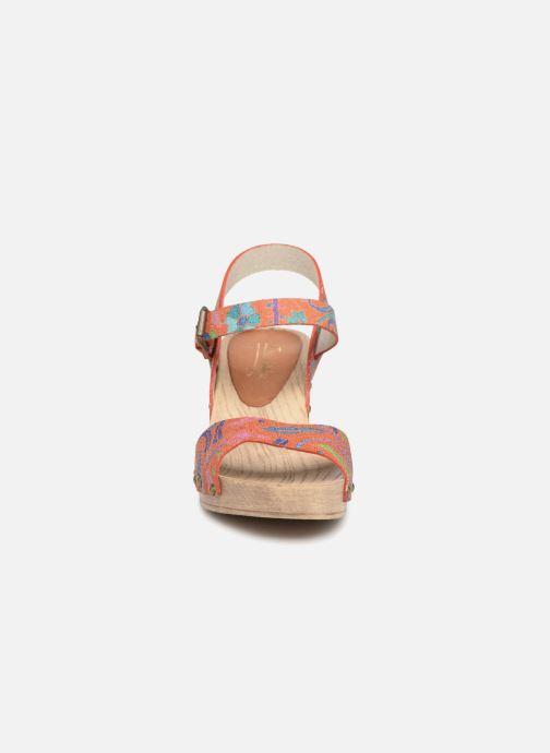 Sandales et nu-pieds Ippon Vintage SOK-POWER Orange vue portées chaussures