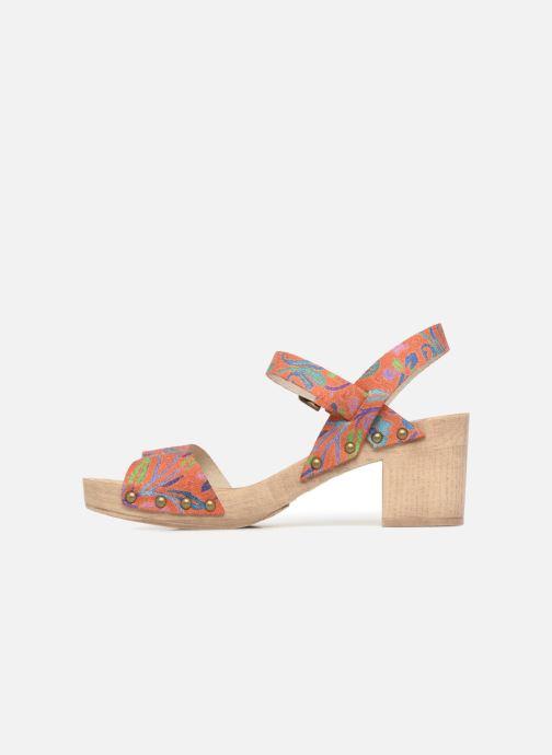 Sandales et nu-pieds Ippon Vintage SOK-POWER Orange vue face