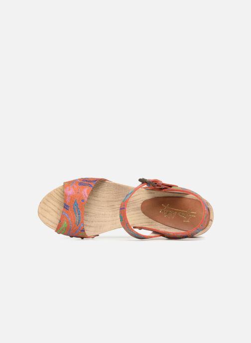 Sandalias Ippon Vintage SOK-POWER Naranja vista lateral izquierda
