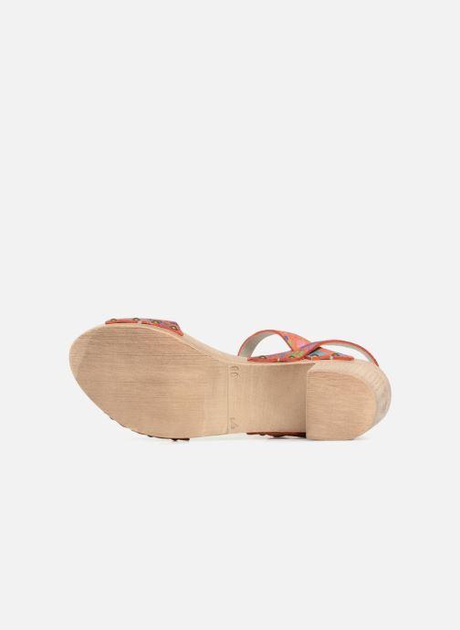 Sandalias Ippon Vintage SOK-POWER Naranja vista de arriba