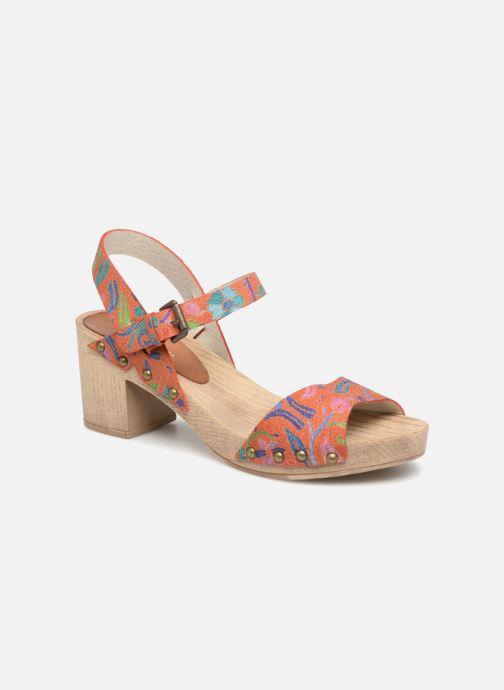 Sandales et nu-pieds Ippon Vintage SOK-POWER Orange vue détail/paire