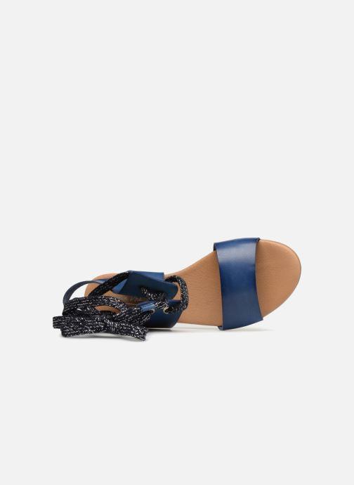 Sandales et nu-pieds Ippon Vintage SAND-BEACH Bleu vue gauche