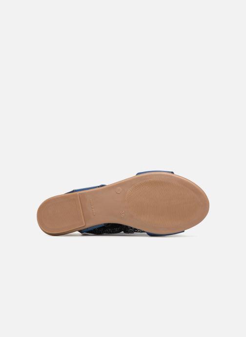 Sandales et nu-pieds Ippon Vintage SAND-BEACH Bleu vue haut