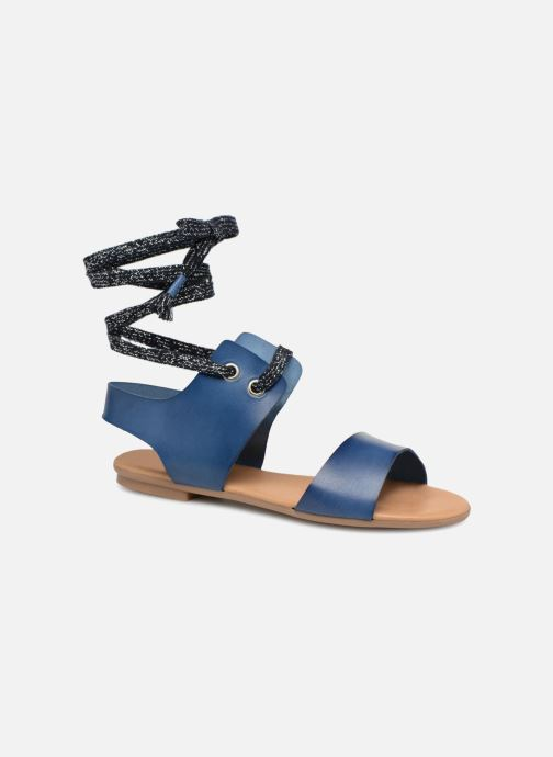 Sandales et nu-pieds Ippon Vintage SAND-BEACH Bleu vue détail/paire