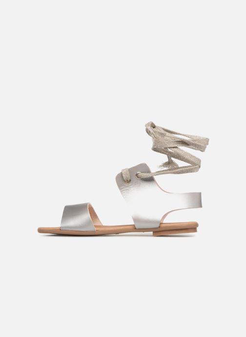 Sandales et nu-pieds Ippon Vintage SAND-BEACH Argent vue face