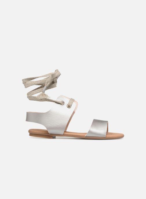 Sandales et nu-pieds Ippon Vintage SAND-BEACH Argent vue derrière