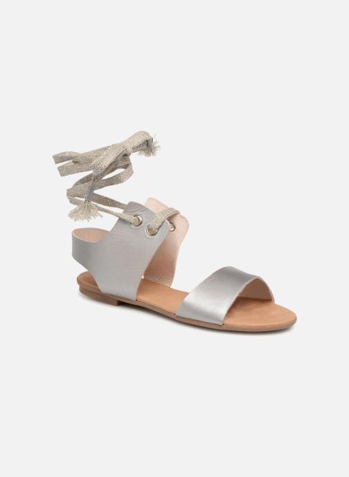 Sandales et nu-pieds Ippon Vintage SAND-BEACH Argent vue détail/paire