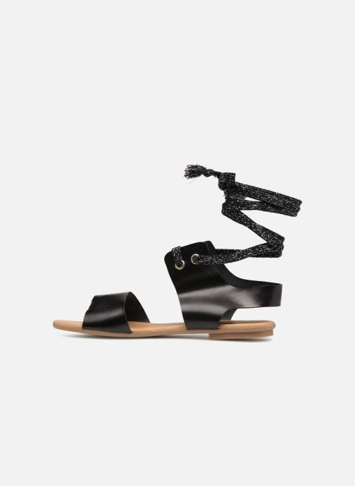 Sandales et nu-pieds Ippon Vintage SAND-BEACH Noir vue face