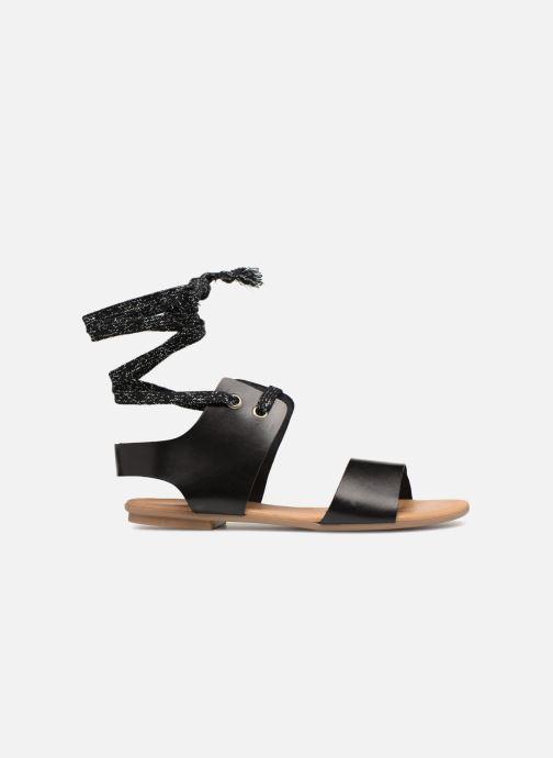 Sandales et nu-pieds Ippon Vintage SAND-BEACH Noir vue derrière